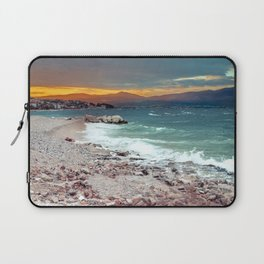 on the beach after the storm, Croatia Laptop Sleeve