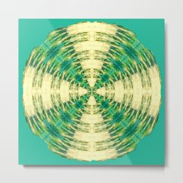317 - Abstract Orb design Metal Print