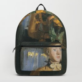 """Michael Peter Ancher - Sketch for """"The Girl with the Sunflowers"""" Backpack"""