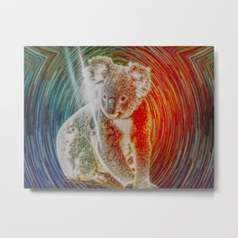 Protect Me For A While Metal Print