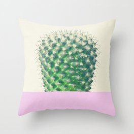 Cactus Dip II Throw Pillow