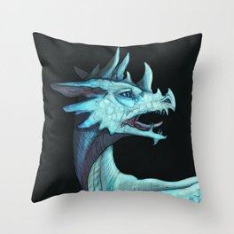 Pale dragon Throw Pillow