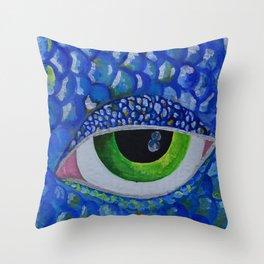 The sea needs glasses Throw Pillow
