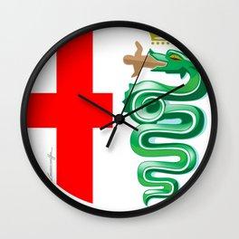Alfa Romeo logo interpretation! Wall Clock