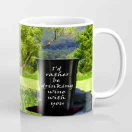 Wine tasting Coffee Mug