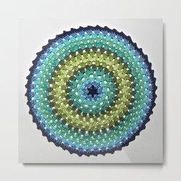Mandala - Ocean Opulence Metal Print