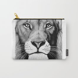 Lion face Carry-All Pouch