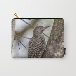Northern Flicker, Male Red Shafted, No. 1 Carry-All Pouch
