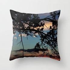 NM Sunset 6 Throw Pillow