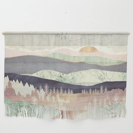 Golden Spring Reflection Wall Hanging