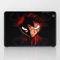 luffy iPad Cases featuring BLOODY LUFFY by feimyconcepts05