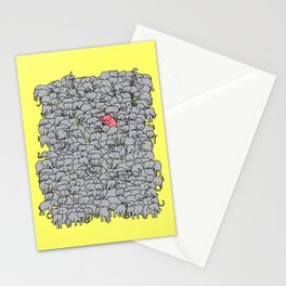 Stand Out & Be Herd Stationery Cards
