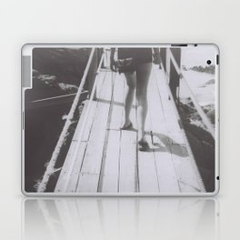 the unhurried walker Laptop & iPad Skin