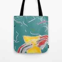 fishing Tote Bags featuring FISHING by  ECOLARTE