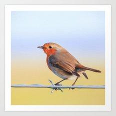 The Red Robin Art Print