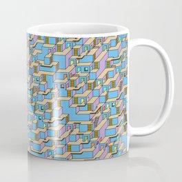 3D Cube Maze Coffee Mug
