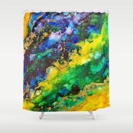 A L I V E Shower Curtain