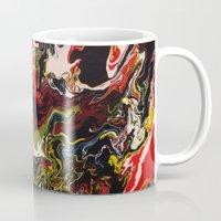acid Mugs featuring Acid by Jordan Luckow