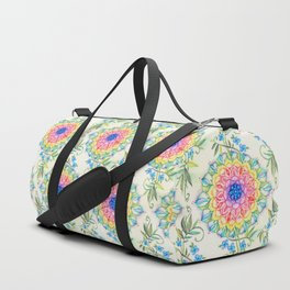 Midsummer Boho Mandala Duffle Bag