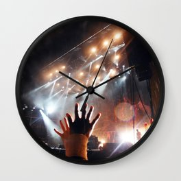 Music Scene - Leeds Festival 2013 - Biffy Clyro Wall Clock