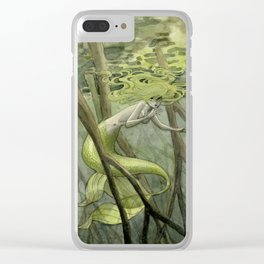 Mangrove Mermaid Clear iPhone Case