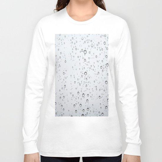 Rain Drop Long Sleeve T-shirt