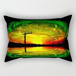 Night Eye Rectangular Pillow