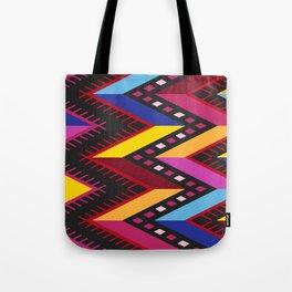 Colored huipil Tote Bag