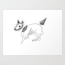 Canis putidus Art Print