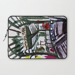 Paris Metro Sketch Chatelet Laptop Sleeve