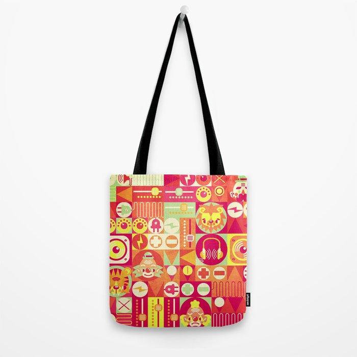 Electro Circus Tote Bag