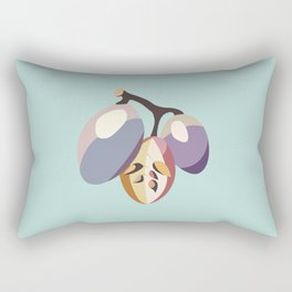 grape fruit illustration Rectangular Pillow