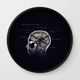 On Alcohol Wall Clock