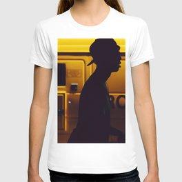 Yellow van Australian man T-shirt