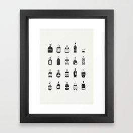 Lil' Whiskys Framed Art Print