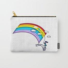 Rainbow Girl Carry-All Pouch