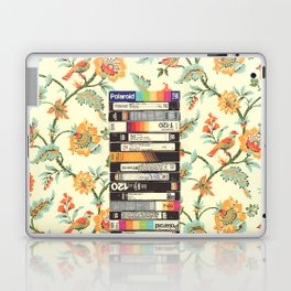 VHS & Entry Hall Wallpaper Laptop & iPad Skin