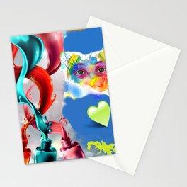 Mirada en temperas Stationery Cards