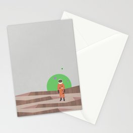 Marooned Astronaut Stationery Cards