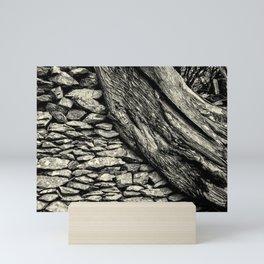 Twisted Tree Mini Art Print