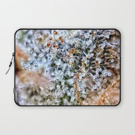 Diamond OG Top Shelf Trichomes Close Up View Laptop Sleeve