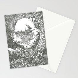 Longboat Stationery Cards