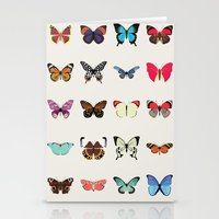 butterflies Stationery Cards featuring Butterflies by Dorothy Leigh