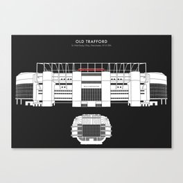OLD TRAFFORD STADIUM - Manchester United  Canvas Print