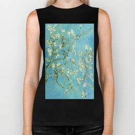 Vincent Van Gogh Almond Blossoms Biker Tank