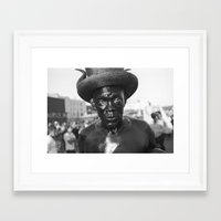 oil Framed Art Prints featuring OIL by Mark Nevers