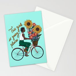 This Girl is Going Places Stationery Cards