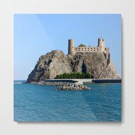 Al Jalali Fort Muscat Oman Metal Print