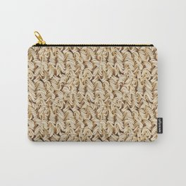 Instant Ramen Noodle Pattern Carry-All Pouch