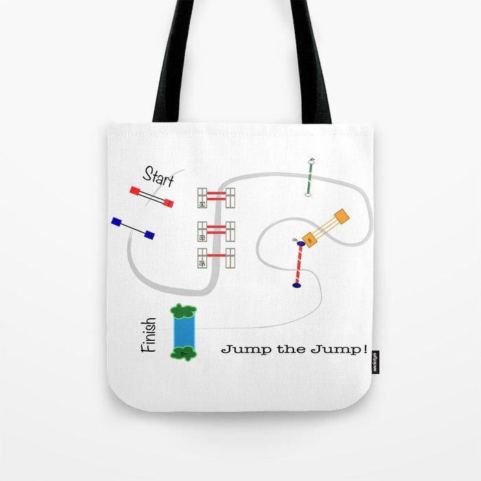 Jump the Jump Tote Bag
